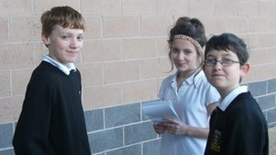 Tom was interviewed by Kieran, Year 7, and Amber, Year 8