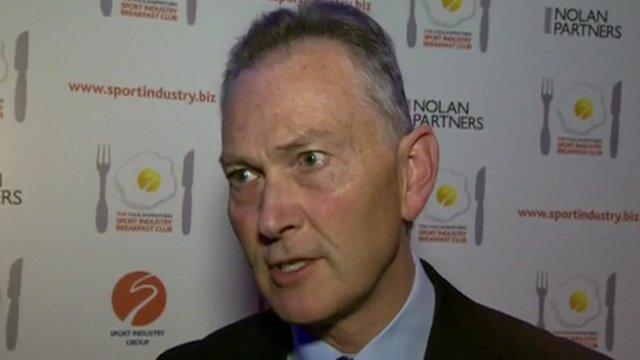 Premier League chief executive Richard Scudamore