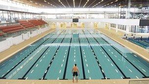 Royal Commonwealth Pool Pic: Phil Wilkinson