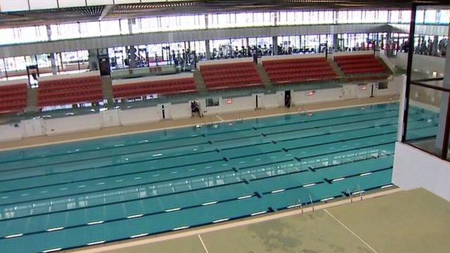 Edinburgh's refurbished Commonwealth Pool