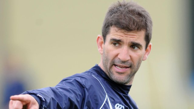 Blues coach Gareth Baber