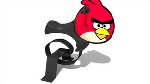 Angry Birds swing