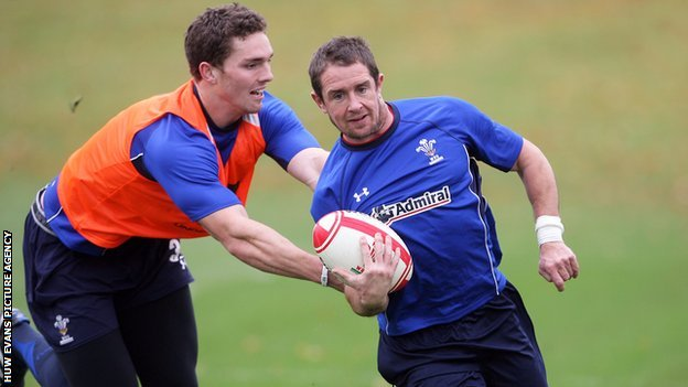 George North and Shane Williams