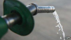A fuel hose