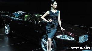 Jaguar in China