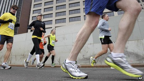 Could you run a marathon without training?