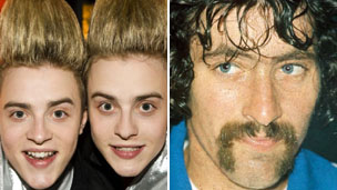 Jedward and David Bedford
