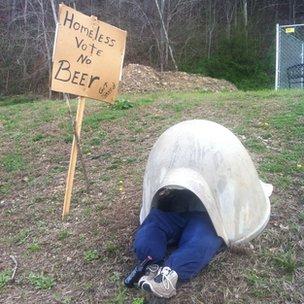 Anti-alcohol protest, Williamsburg