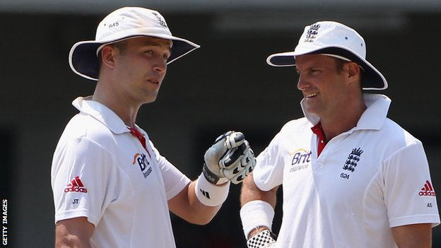 Jonathan Trott and Andrew Strauss