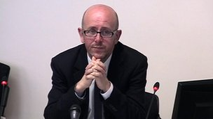 Sean O'Neill at Leveson Inquiry