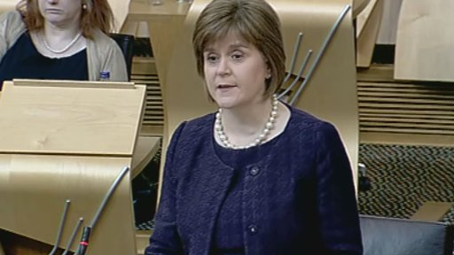 Health Secretary Nicola Sturgeon