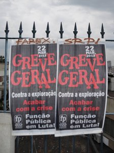 Poster for general strike