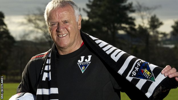 New Dunfermline manager Jim Jefferies