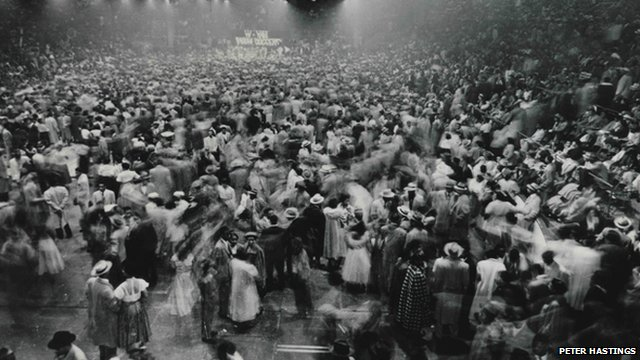 Moondog Coronation Ball in Cleveland, Ohio on 21 March 1952