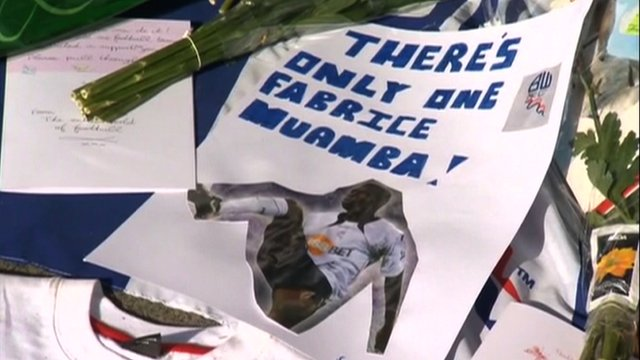Dan Roan report on Fabrice Muamba