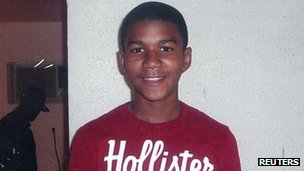 Handout photo of Trayvon Martin from his family
