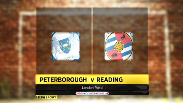 Peterborough 3-1 Reading