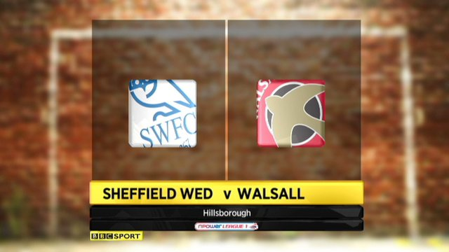 Sheff Wed 2-2 Walsall