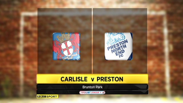 Carlisle 0-0 Preston