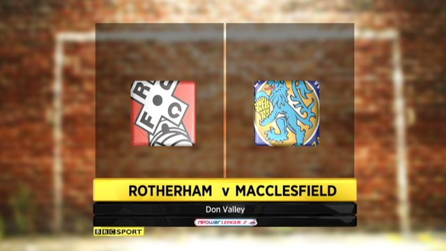 Highlights - Rotherham 4-2 Macclesfield