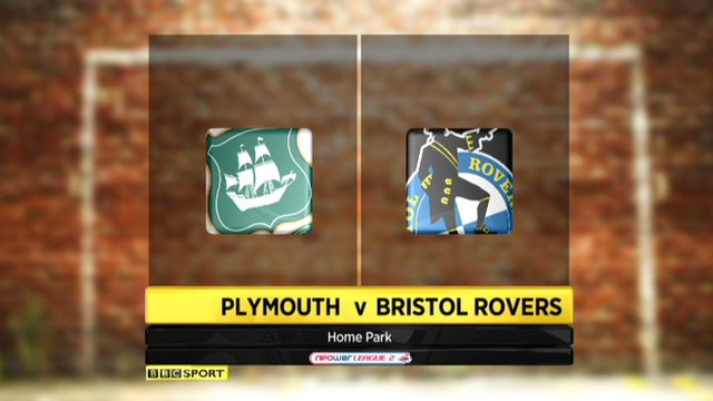Highlights - Plymouth 1-1 Bristol Rovers