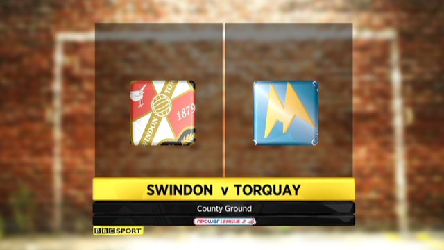 Highlights - Swindon 2-0 Torquay