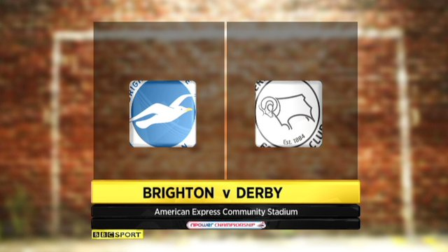 Highlights - Brighton 2-0 Derby