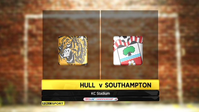 Highlights - Hull 0-2 Southampton