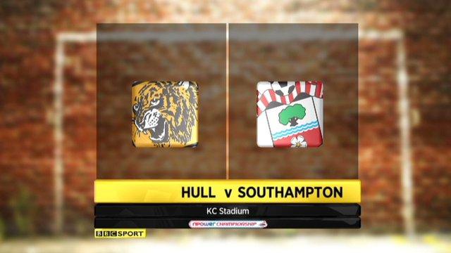 Highlights - Hull 0-2 Southampton