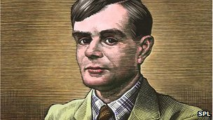 Painting of Alan Turing