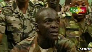 Mutiny leader Capt Amadou Sanogo