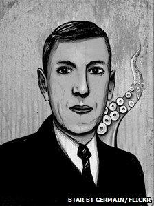 HP Lovecraft illustration