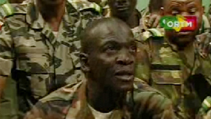 Malian coup leader Captain Amadou Sanogo