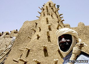 Mosque in Timbuktu