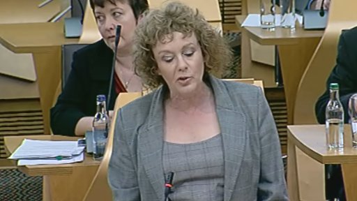 Labour MSP Elaine Murray led the debate on ferries