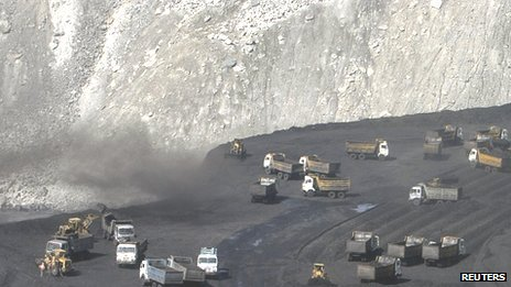 The Gevra coal mine in the central Indian state of Chhattisgarh