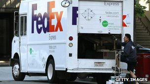 Fedex van, San Francisco