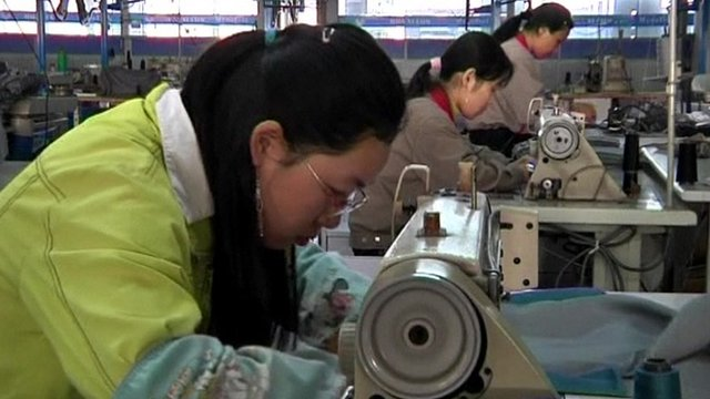 Inside a Chinese factory
