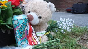 Skittles and iced tea at a Trayvon Martin memorial