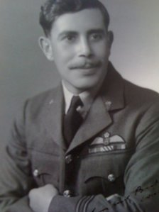 Flying officer David Bhore