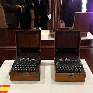 Spanish Enigma machines