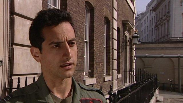 Flt Lt Jon Singh
