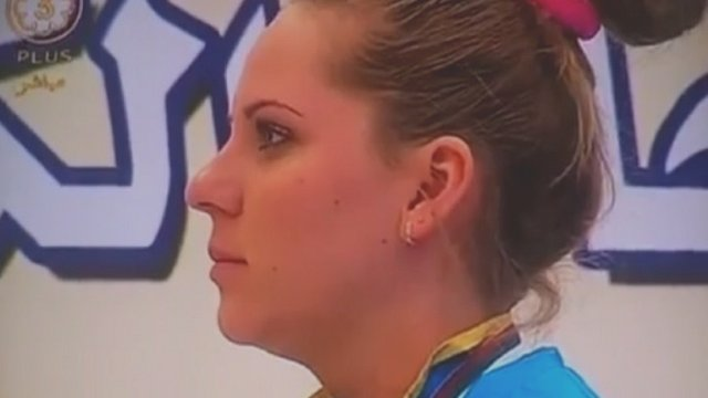 Maria Dmitrienko Kazakh gold medallist