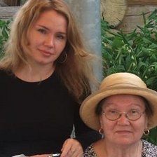 Svetlana Zolotovska with her mother Antonina Belska