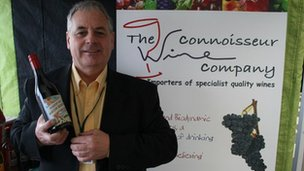 Alan Terry, owner of York and Hull-based Connoisseur Wines,