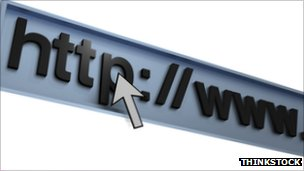 Internet browser address bar