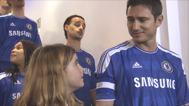 Frank Lampard is 'Outnumbered' for Sport Relief