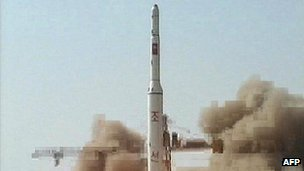 File photo of North Korean rocket launch from April 2009 