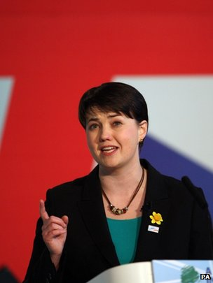 Ruth Davidson at the Troon conference