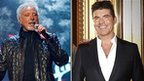 Sir Tom Jones (left) and Simon Cowell, who head the judging panel on The Voice and Britain&#039;s Got Talent respectively